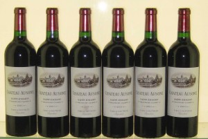 Chateau Ausone Bottles