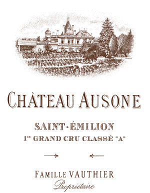 Chateau Ausone Label