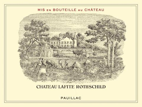 Chateau Lafite Rothschild Label