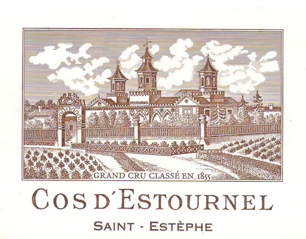 Chateau Cos D'Estournel Label