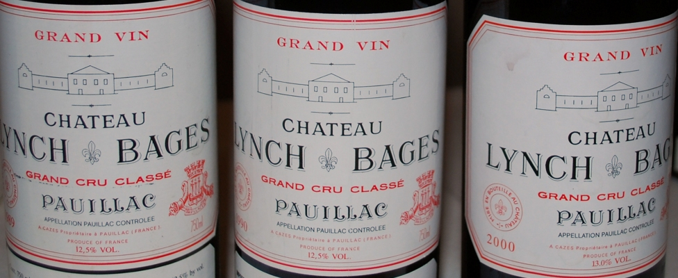 Chateau Lynch Bages Bottles