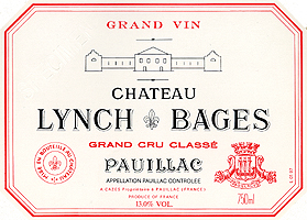 Chateau Lynch Bages Label